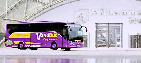 Rental bus of VarioBus GmbH in Leipzig