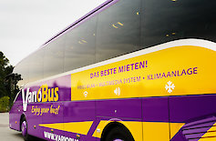 Side view of a bus of VarioBus GmbH